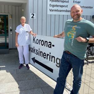 Leder og koordinator for vaksineringsarbeidet i Evje og Hornnes