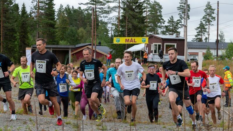 Terrengløpet TrysilMila ble arrangert for første gang i Østby, Trysil lørdag 14. august. Foto: Johan Andersson