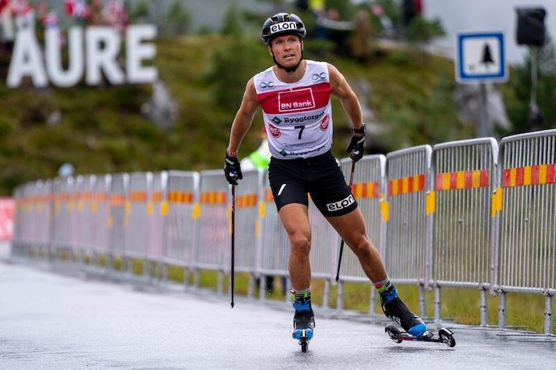 Gaute Kvåle vant Brekka Opp i Aure under Toppidrettsveka 2021. Foto: Toppidrettsveka