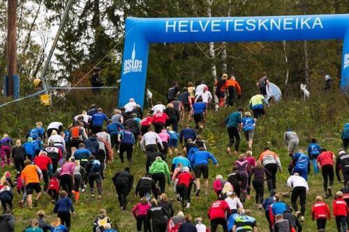 Motbakkeløpet Oslos Bratteste er tilbake etter fjorårets koronapause. Årets dato er 2. oktober. Foto: Oslos Bratteste