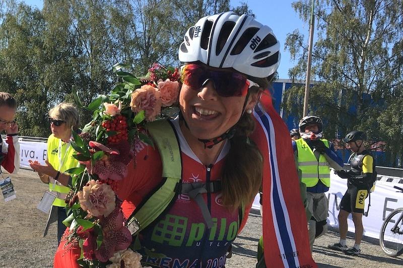Ingrid Lorvik vant Birkebeinerrittet. Foto: Ingeborg Scheve
