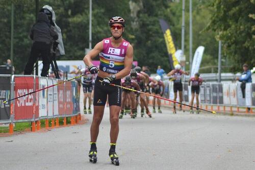 Max Novak vinner Alliansloppet 2021. Foto: Johan Trygg/Langd.se