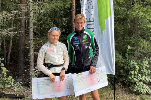 Kristen og Marte Mikkelsplass satte begge rekord i den 4,4 km lange motbakken fra Bergheim. Nye rekorder er : Herrer: 19.47 , Damer: 22.58