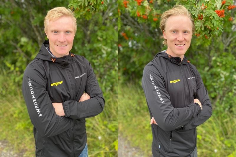 Jens Burman og Oskar Svensson blir lagkamerat med Didrik Tønseth i Team Engcon. Foto: Team Engcon