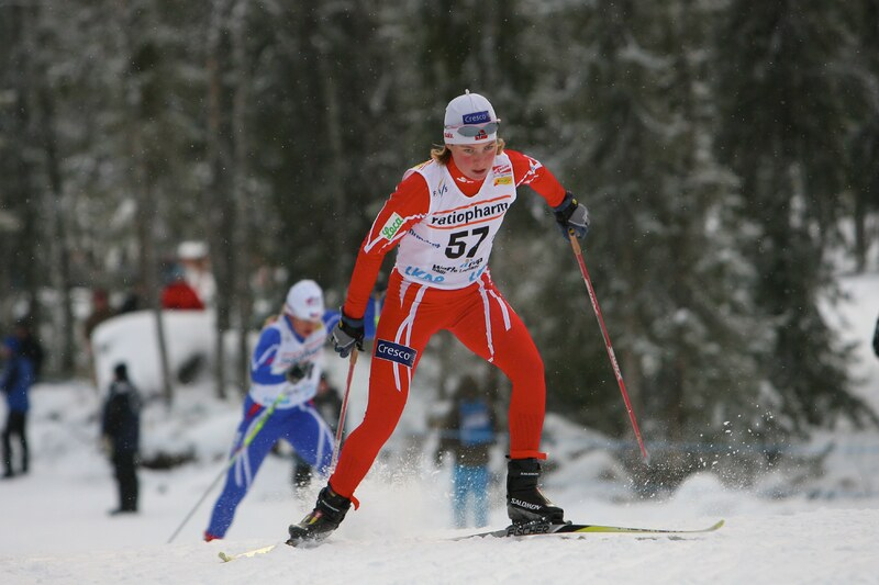 Kristin Mürer Stemland fra verdenscupen i Gällivare, november 2008. Foto: NordicFocus