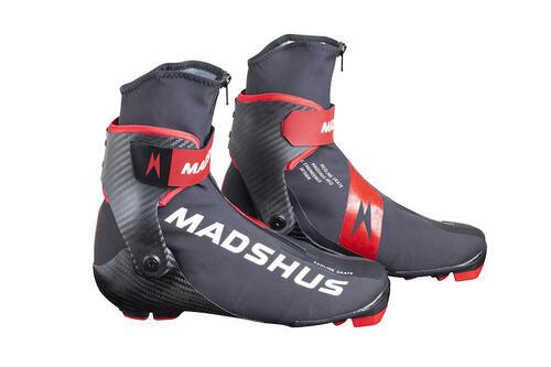 Nye Madshus Redline Skate: Madshus produktutviklere har bygget om flaggskipskoen Redline Skate fra grunnen. Foto: Madshus/Stefano Zatta