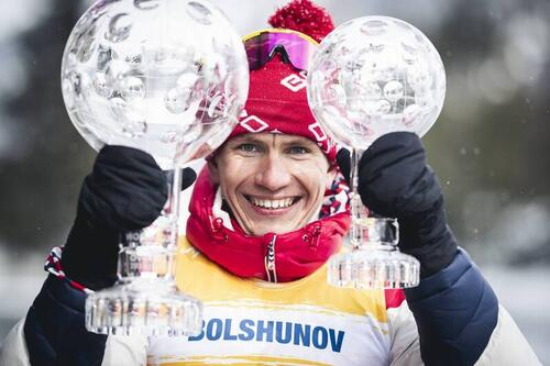 Alexander Bolshunov har vunnet verdenscupen sammenlagt de siste to sesongene. Foto: Modica/NordicFocus.
