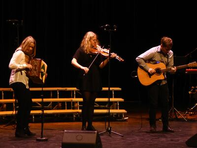 Trio med Hardingfele, toradar og gitar
