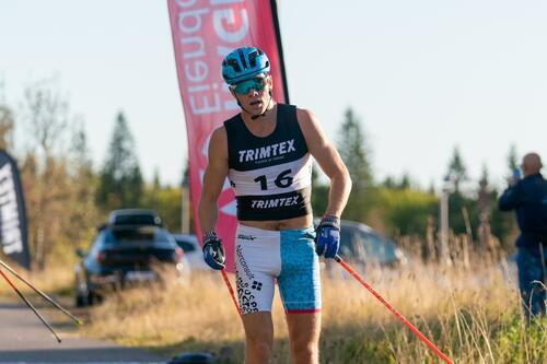 Thomas Helland-Larsen vant torsdagens Ragde Charge Opp Tryvann. Foto: Børre Eirik Helgerud