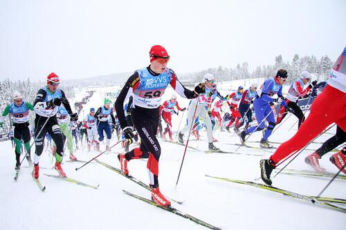 Til vinteren blir det igjen tilbud om skirenn, treninger og aktiviteter for alle, unge og voksne, bredde og elite. Nå er det slutt på smittevernrestriksjoner. Foto: Geir Nilsen/Langrenn.com