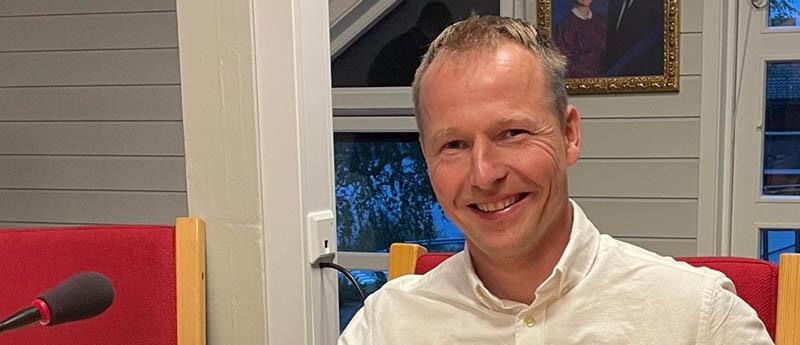 Ordfører Terje MøkjålandOrdfører Terje Møkjåland