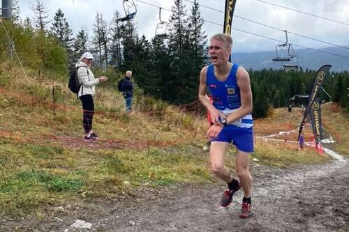 Anders Haga vant Oslos Bratteste 2021. Foto: Arrangøren