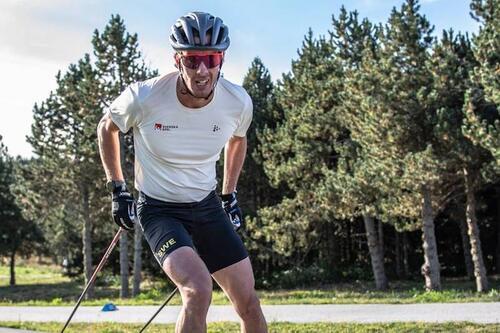 Johan Häggström motiveres av drømmen om å ta gull på sprinten i OL 2022. Foto: Leo Authamayou/NordicFocus