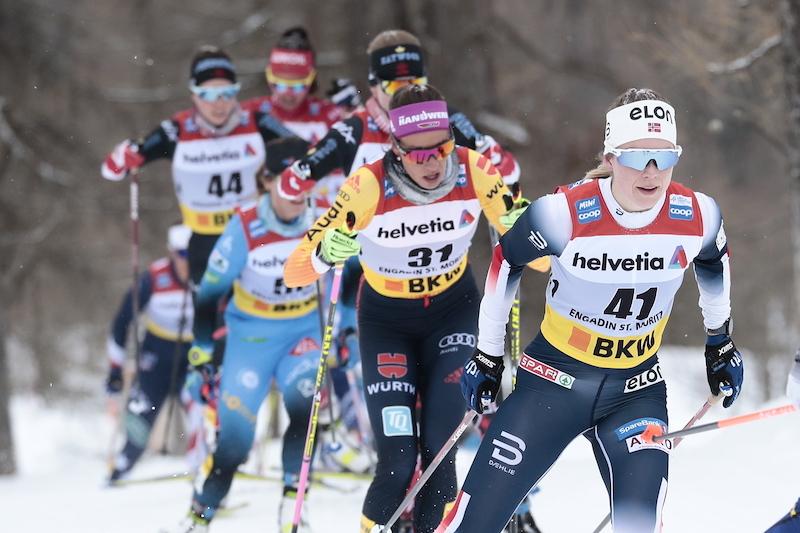 Marte Skaanes har gått utvilklingstrappa steg for steg. I år ble hun tatt opp på rekruttlandslaget. Foto: Modica/Nordic Focus