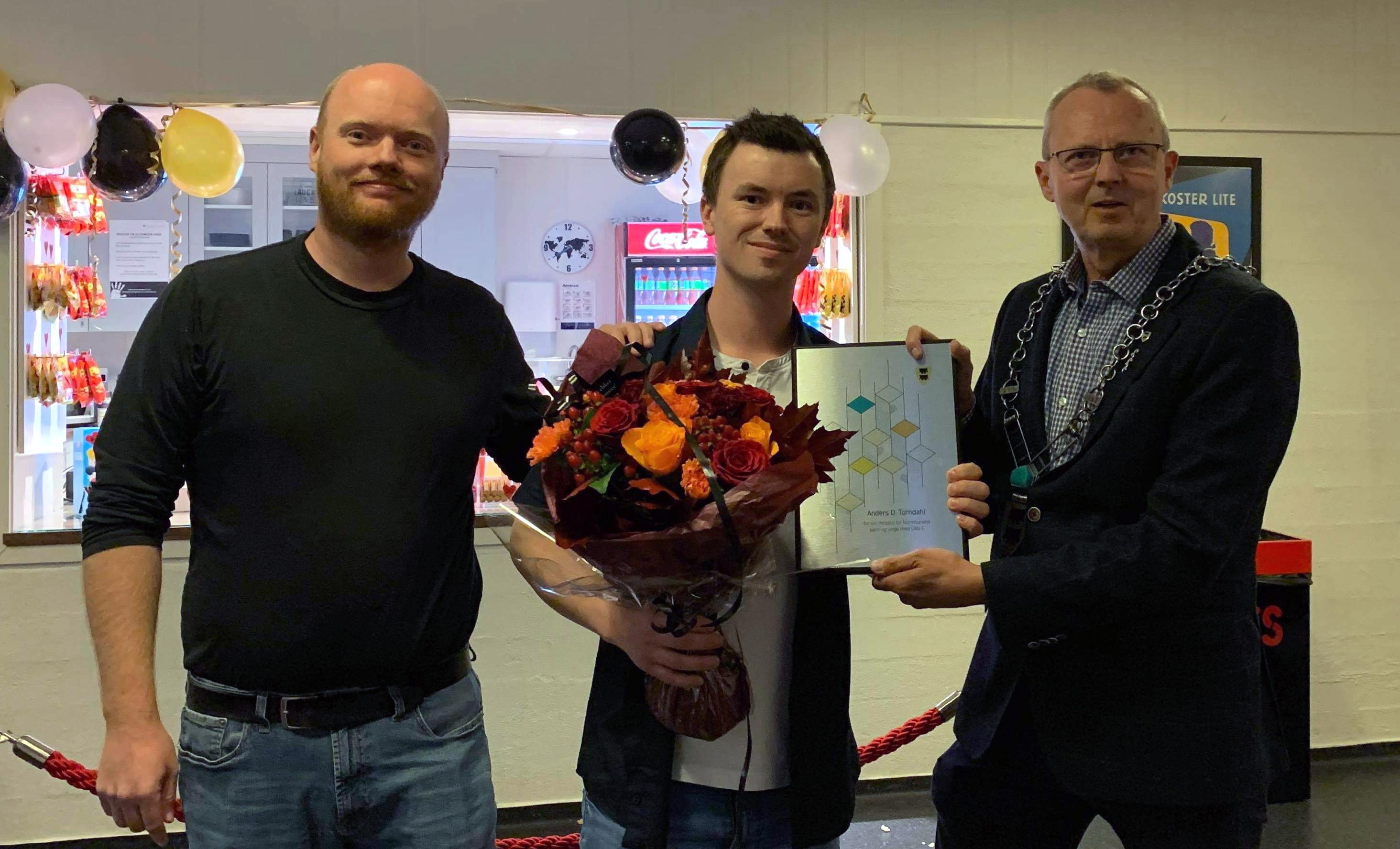 Glenn Cato Christensen, Anders Odde Torndahl og ordfører Svein Arne Haugen_redigert2.jpg