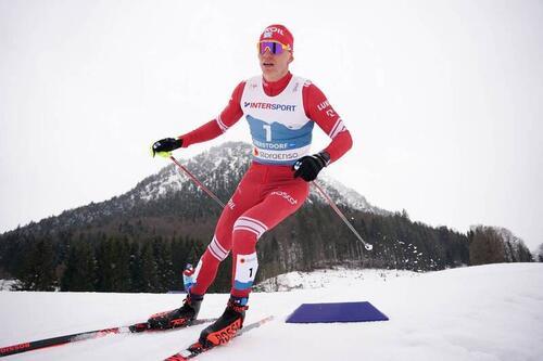 Alexander Bolshunov. Foto: Thibaut/NordicFocus