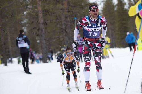 Øystein Pettersen i Levi 2019. Foto: Manzoni/NordicFocus