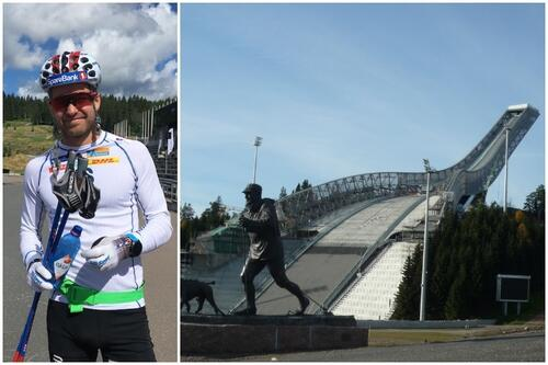 Allroundlandslaget legger sin oktobersamling til Oslo, mens andre landslag trener i høyden. Det plager ikke Sjur Røthe. Foto: Ingeborg Scheve/wikimedia