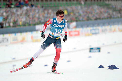 Harald Østberg Amundsen gambler ikke med oppkjøringa til OL-sesongen. Foto: Modica/Nordic Focus