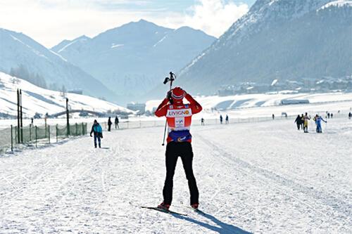 Petter Northug under høydetrening i Livigno i Italia. Foto: Felgenhauer/Nordic Focus