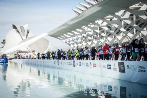 Fra Valencia maraton Foto: Creative Commons