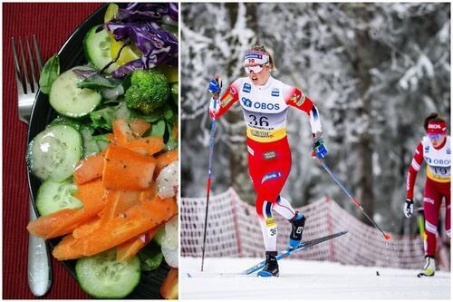 De aller fleste langrennsløpere har ikke et problem med sitt forhold til mat og vekt, sier Kari Øyre Slind (bildet) vil ikke gi fokuset på spiseforstyrrelser, vekt og mat få for stor plass. Foto: Modica/Nordic Focus