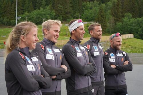 Laget samlet i Trondheim tidligere i høst. Foto: Team Koteng/Eidissen