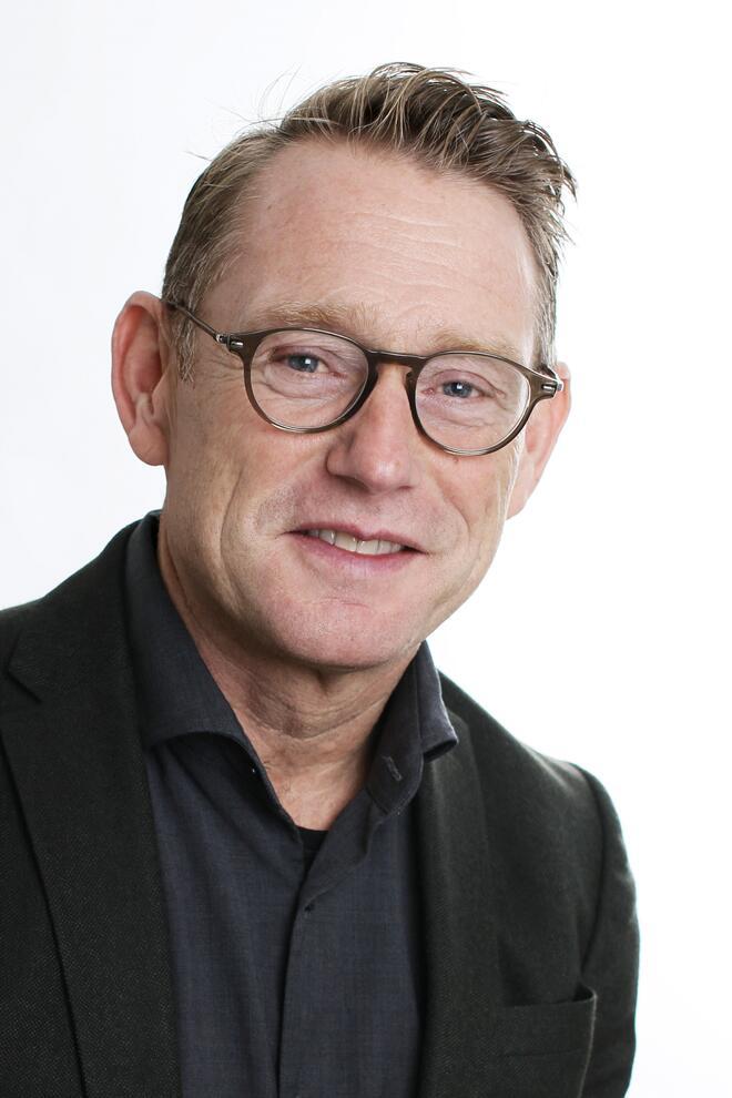 Bildet viser rådmann Erling S. Kristiansen