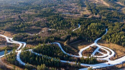 Langrennssesongen i Trysil starter 30. oktober på 6,5 km langrennsløyper med snø fra i fjor. Foto: Jonas Sjögren