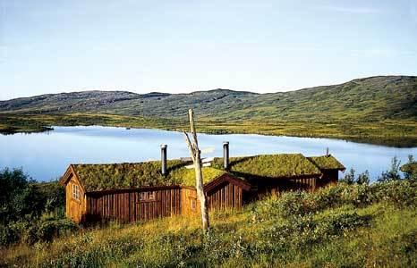 Lågvassbua hytte sommer