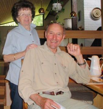 Oddmund Jensen og kona