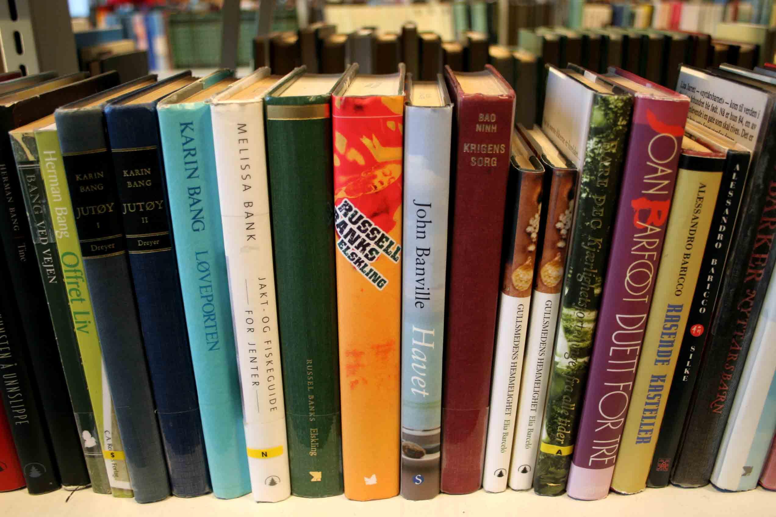 Biblioteksbøker