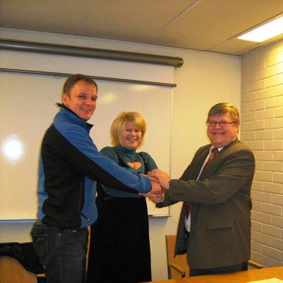 Trilateral avtale inngåelse november 2008.