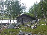 Steinhytta ved Belnesvannet