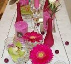 bordpynt, rosa