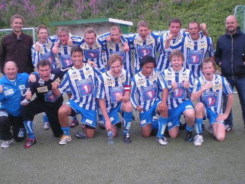 Lagbilde august 2009 med FK Fotball